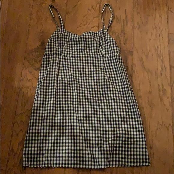 Cooperative Dresses & Skirts - checkered black/ white mini dress